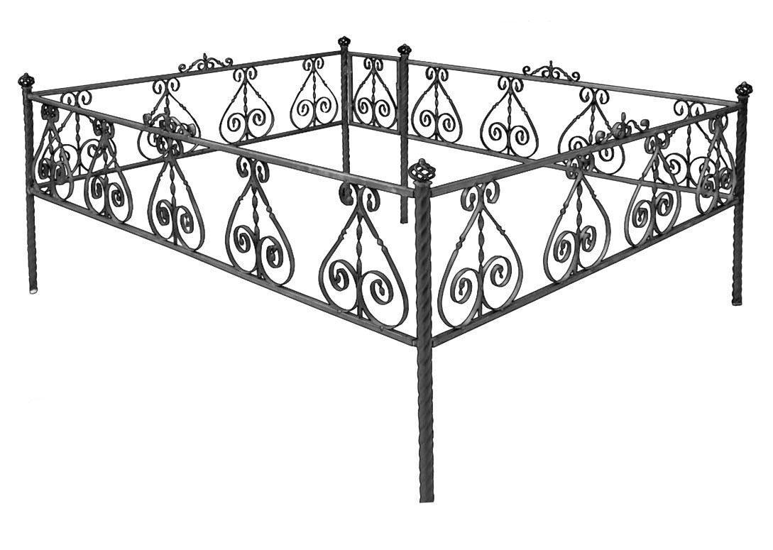 Как сделать ограду для могилы своими руками
