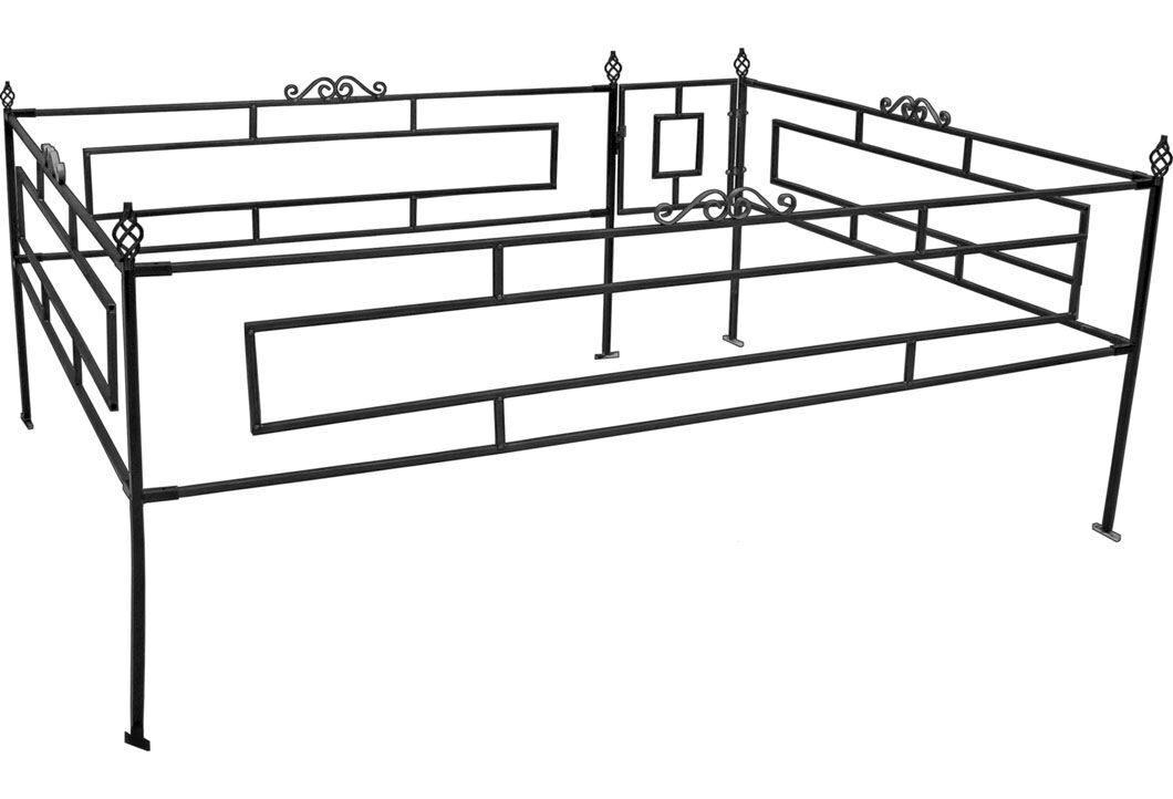 Как сделать ограду на могилу